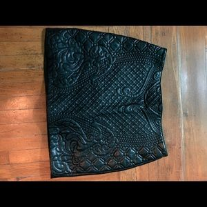 H&M skirt pleather size 10 great condition.